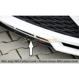Carbon-look blade for Rieger bumper for Seat Leon 5F FR/CUPRA Facelift