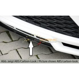 Lame carbon-look pour ajout de pare-chocs Rieger pour Seat Leon 5F FR/CUPRA Facelift