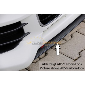 Black blade for adding Rieger front bumpers for Audi A1 Type 8X
