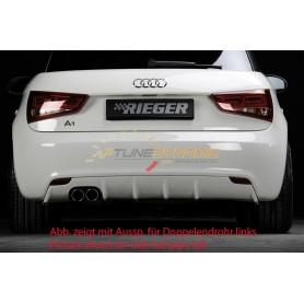 Diffuseur de pare-chocs arrière Rieger pour Audi A1 type 8X