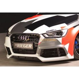 Pare-chocs avant Rieger pour Audi A3/S3 type 8V