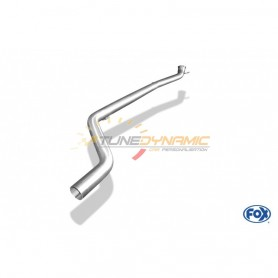Tube de suppression de silencieux avant inox (catalyseur vertical) pour MERCEDES CLA TYPE C117/X117