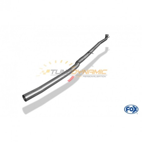 Tube de suppression de silencieux avant inox pour MERCEDES CLA 220 4-MATIC TYPE C117/X117