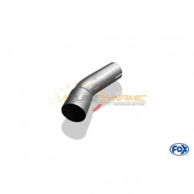 Tube de connexion inox Ø55.5mm pour MERCEDES CLK TYPE W209