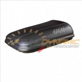 Roof box FARAD barRACUDA F1 320L black