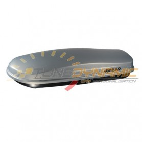 Grey ZEUS 480L FARAD roof box