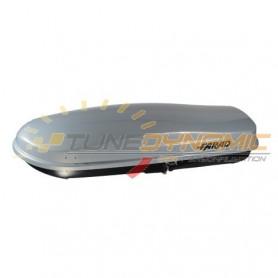 FARAD ZEUS 480L metallic grey roof box