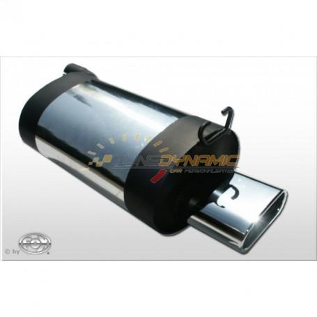 Silencieux arrière inox 1x160x80mm type 53 pour MERCEDES SL TYPE R129