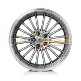 Jante aluminium Brock B24-GP CHROMSILBER HORN-POLIERT (CSSHP)