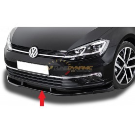 Front Bumper Spoiler for Volkswagen Golf 7 Facelift Series