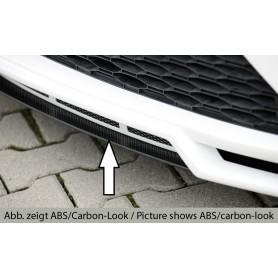 Lame noire pour ajout de pare-chocs Rieger pour Seat Leon 5F FR/CUPRA Facelift