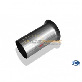 Stainless front silencer connection tube for RENAULT AVANTIME 3.0L V6