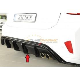 Rieger shiny black rear bumper diffuser for FORD FOCUS MK4 ST-LINE