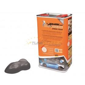 Bidon de peinture Gunmetal gris métallisé mat pour pistolet à peinture Foliatec
