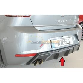 Rieger black rear bumper diffuser for SEAT IBIZA TYPE KJ