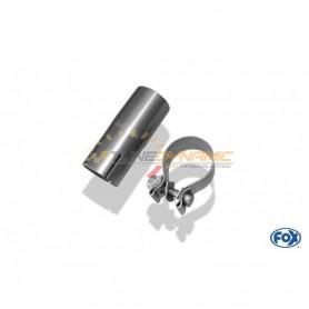 Kit de montage Ø60.7mm pour silencieux arrière FOX de MERCEDES CLASSE C TYPE W203/S203