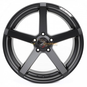 "JANTE Z-PERFORMANCE ZP.06 DEEP CONCAVE BLACK MATT 8x18"" - 5x120 - ET38 - Ø72.6mm"