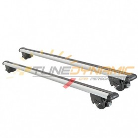 ALU SIME 110cm roof bars - pre-mounted fastening kit for Peugeot 407 SW