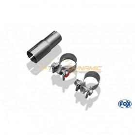 Stainless rear silencer mounting kit for SEAT MII
