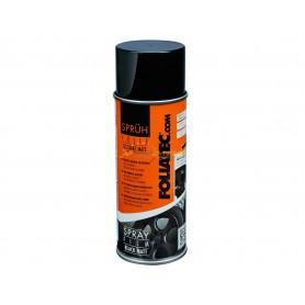 Bombe de 150 ml de Spray Film pour jantes noir mat