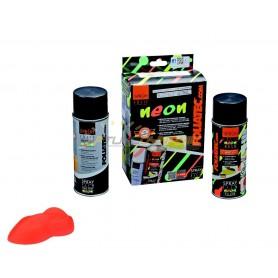 Pack Spray Film NEON 2 pcs pour jantes rouge fluo