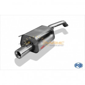 copy of 1x90mm stainless steel 13 for NISSAN MICRA TYPE K12