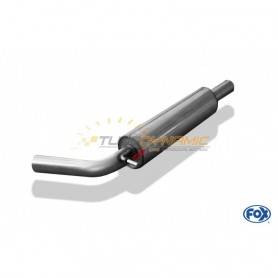 copy of Silent stainless steel front for SKODA FABIA 3 PORTES TYPE NJ