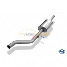 copy of Silent stainless steel front for RENAULT CLIO IV GT