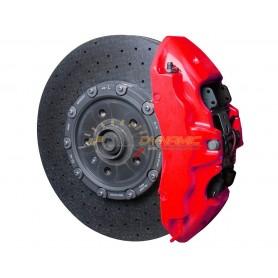 Kit peinture étriers de freins Foliatec NEON ROUGE