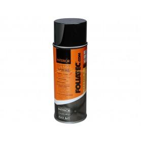 Bombe de peinture intérieur 400 ml Foliatec NOIR MAT