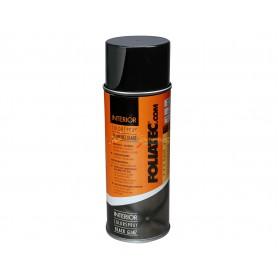 Bombe de peinture intérieur 400 ml Foliatec NOIR BRILLANT