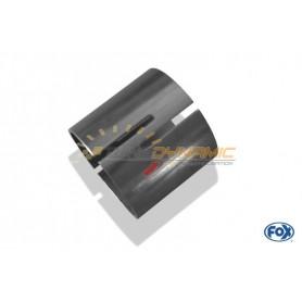 Tube de connexion inox pour AUDI 80/90 TYPE 89/B3