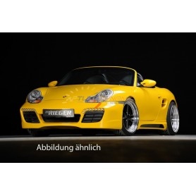 Pare-chocs avant Rieger sans feux de jour pour Porsche Boxter type 986 / 911 type 996