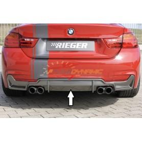 Diffuseur de pare-chocs arrière carbon-look Rieger pour BMW SERIE 4 TYPE F32/F33/F36