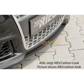 Lame carbon-look sous calandre Rieger pour AUDI A4 TYPE 8H CABRIOLET