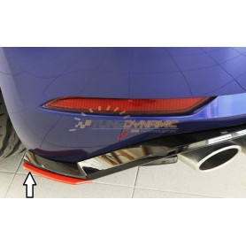 Rieger right rear bumper extension for Volkswagen Golf 7 R/R-LINE Facelift