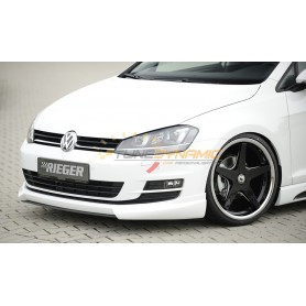 Added Front Rieger Bumpers for Volkswagen Golf 7