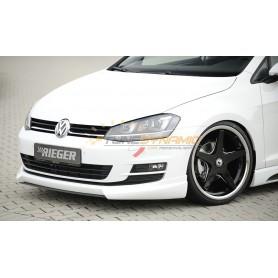 Ajout de pare-chocs avant Rieger pour Volkswagen Golf 7