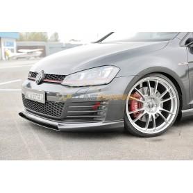 Ajout de pare-chocs avant Rieger pour Volkswagen Golf 7 GTI/GTD