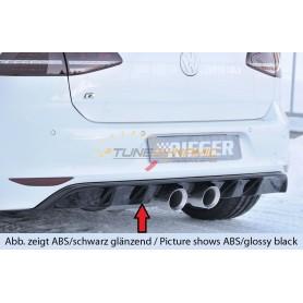 Diffuseur de pare-chocs arrière Rieger pour Volkswagen Golf 7 R