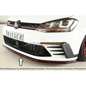 Lame de pare-chocs avant Rieger pour Volkswagen Golf 7 GTI Clubsport