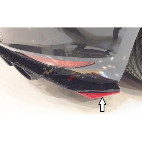 Extension de pare-chocs arrière Rieger pour Volkswagen Golf 7 GTI Clubsport