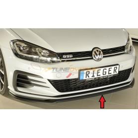 Lame de pare-chocs avant Rieger pour Volkswagen Golf 7 GTI/GTD/GTE Facelift