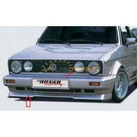 Ajout de pare-chocs avant Rieger pour Volkswagen Golf 1