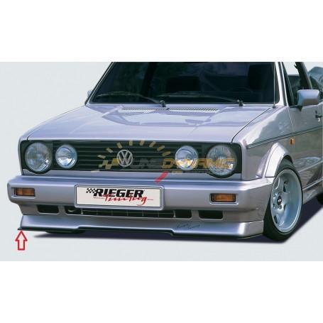 Lame pour ajout de pare-chocs avant Rieger pour Volkswagen Golf 1