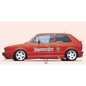 Rieger stockings for Volkswagen Golf 1