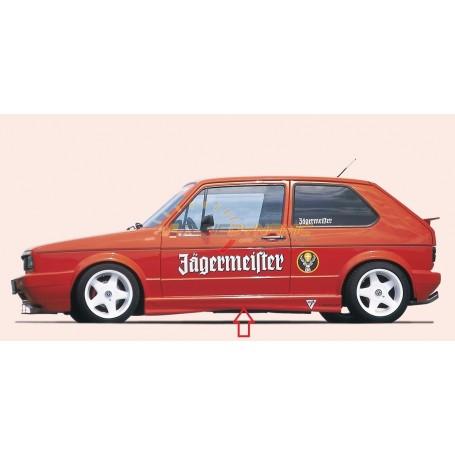 Bas de caisse Rieger pour Volkswagen Golf 1