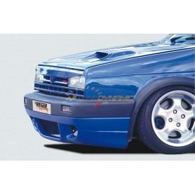 Extension de pare-chocs avant Rieger pour Volkswagen Golf 2