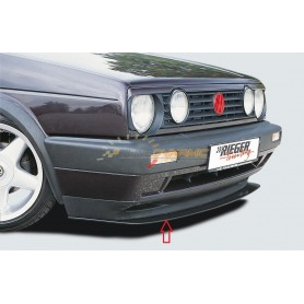 Rieger blade for original front bumper for Volkswagen Golf 2