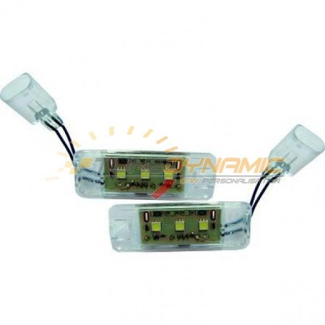 LED plate scout fire for Volkswagen Golf 7